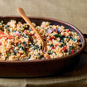 Couscous-and-Spinach StuffingRecipe
