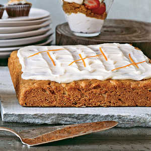 Frosted Carrot Cake SquaresRecipe