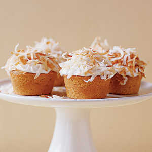Mini Lemon-Coconut CupcakesRecipe