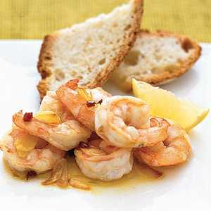 Shrimp With Garlic in Olive Oil Recipe
