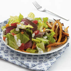 sirloin-salad-sweet-potatoRecipe
