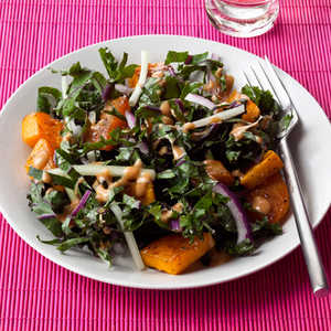 squash-kale-salad Recipe