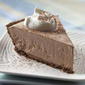 Lite Frozen Chocolate Cheesecake RecipeRecipe
