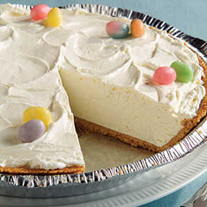 Fluffy 2-Step Easter CheesecakeRecipe