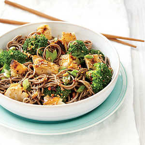 Sweet Sesame Noodles with Chicken and BroccoliRecipe