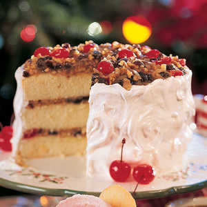 Holiday Lane Cake Recipe