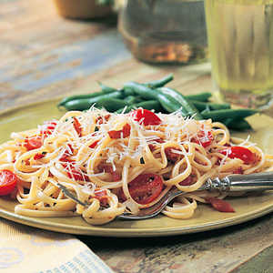 Bacon-Tomato Linguine Recipe