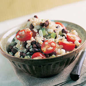 Barley and Black Bean SaladRecipe