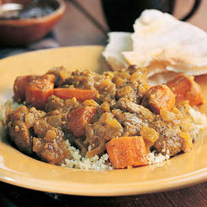 Curried Lamb and CarrotsRecipe