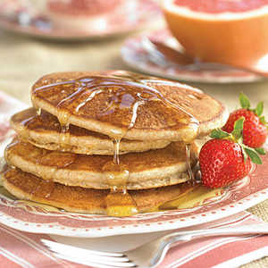 Cornmeal Griddle Cakes Recipe