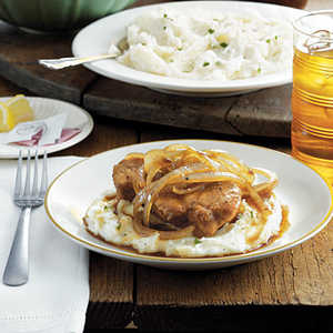 Country Smothered Pork ChopsRecipe