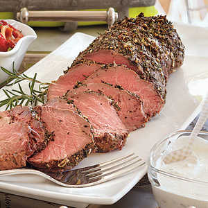 Cold Roasted Tenderloin of Beef with Creamy Horseradish SauceRecipe