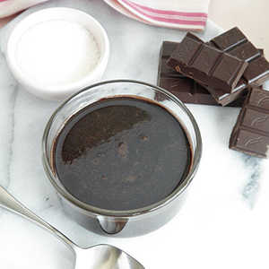 Dark Chocolate SauceRecipe