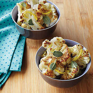 Roasted Cauliflower with SageRecipe