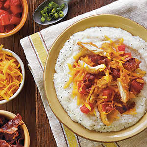 Simple Grits with ToppingsRecipe