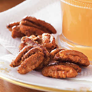 Spicy Smoked Pecans with Bacon Salt Recipe