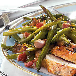 Sweet and Savory Roasted Green BeansRecipe