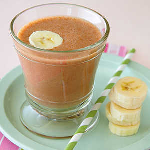 Frozen Chocolate-Banana ShakeRecipe