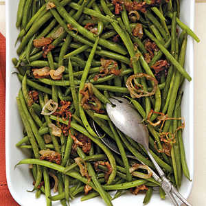 Green Beans with Caramelized ShallotsRecipe