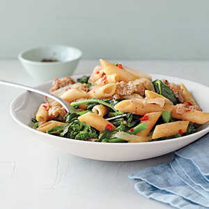 Toasted Penne with Chicken SausageRecipe
