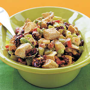 Chicken Salad with Roasted Peppers Recipe