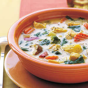 Chicken-Vegetable SoupRecipe