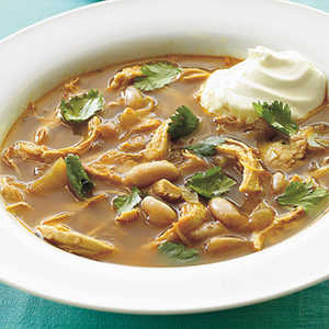Southwestern Chicken and White Bean SoupRecipe