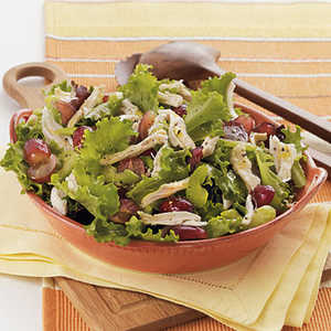 Chicken Salad with Red Grapes and Citrus-Honey Dressing Recipe