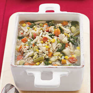 Chicken-Vegetable-Barley SoupRecipe