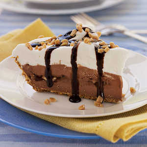 Chocolate-Toffee Ice-Cream Pie Recipe