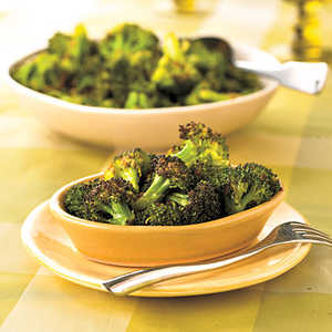 Roasted Broccoli with Orange-Chipotle Butter Recipe