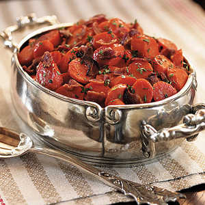 Carrots with Country BaconRecipe