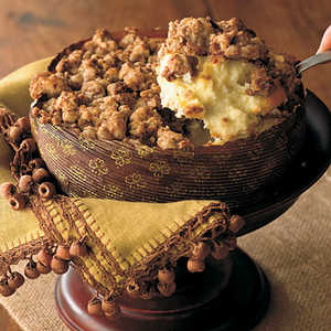 Ginger Streusel-Topped CheesecakeRecipe