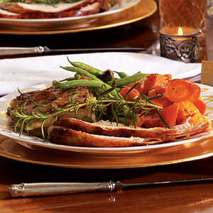 Green Beans with Roasted ShallotsRecipe