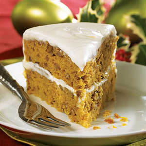 Pumpkin-Pecan Layer CakeRecipe