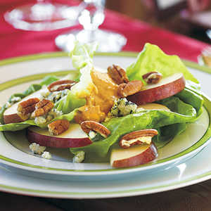 Sliced Pears with Rémoulade Dollop Recipe