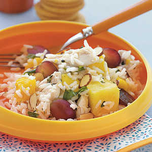 Chicken, Rice, and Tropical Fruit SaladRecipe