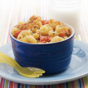 Mac and Cheese with Roasted TomatoesRecipe