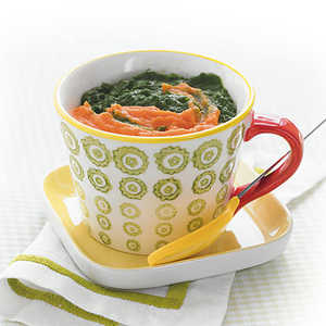 Spinach and Sweet PotatoesRecipe