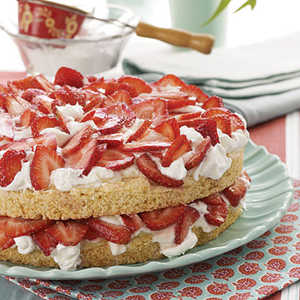 Fresh Strawberry ShortcakeRecipe