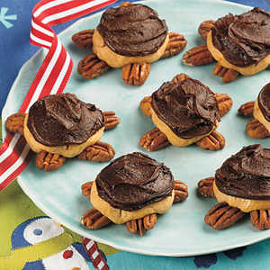 Frosted Turtle CookiesRecipe