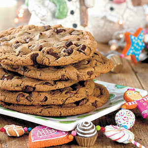 Giant Chocolate Malt CookieRecipe