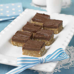 Grace's No-Bake Fudge Squares Recipe
