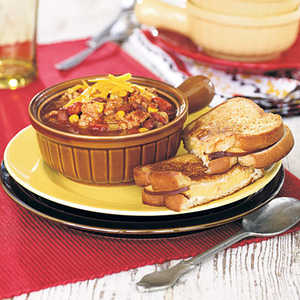 Hearty Turkey ChiliRecipe