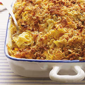 <p>Mandy's Easy Cheesy Chicken Casserole</p>