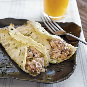 Egg Crepes with Sausage Recipe