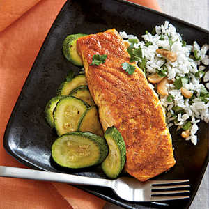 Indian-Spiced Salmon Recipe