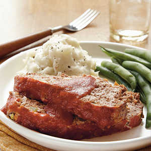 Old-Fashioned All-American Meat Loaf Recipe