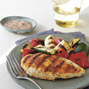 Spicy Herb-Rubbed Grilled Chicken Recipe