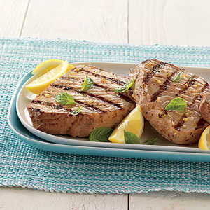 Tuna Steaks with Lemon VinaigretteRecipe